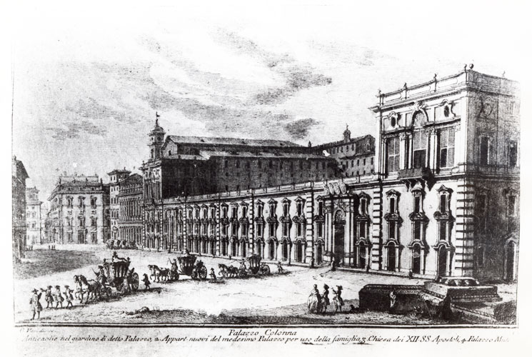 Gravure Vases Palazzo Colonna
